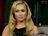 Hayden Panettiere on David Letterman