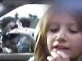 Horny naughty girl Ashley Tisdale flirting in car