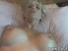 Pink tight pussy hardcore dilled and hot creampied