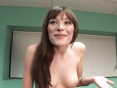 Juicy nextdoor girl opens her tight pussy on cam