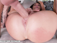 Booty MILF Destiny Dixon rough fucked in all holes