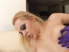 Hot BBW Annette Schwarz tortured in her dirty ass
