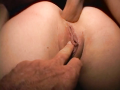 Sey amateur bitch Harmony anal fucked and fingered