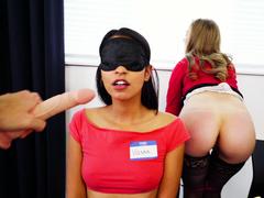Dildo Focus Group Starts Threesome : Babe Lena Paul In the porn scene