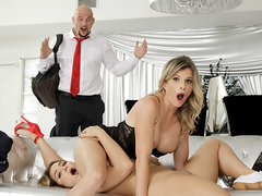 Dirty Little Step Mommy - Naked MILFs Cory Chase In the porn scene