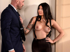 Banging My Boss's Daughter Featuring Brenna Sparks - Brazzers HD