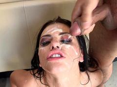 Sexually aroused love Adriana Chechik has nothing against bukkake