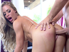 It's a real pleasure for mom Nicole Aniston to be fucked from behind