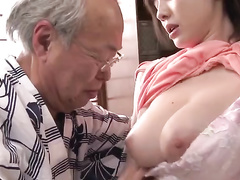 Salivate over this japan babe's boobs and watch this cutie in action