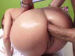 Cheating wife Britney Amber orders lover to shove cock deep inside fanny