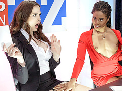 Brazzers HD: Bitchy Broadcasting with Chanel Preston and Kira Noir