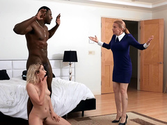 Khloe Capri gets caught with her new stepdad Jax Slayher