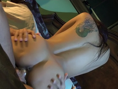 Wicked - Sexy Asian GF Kaylani Lei fucked hard by her BF