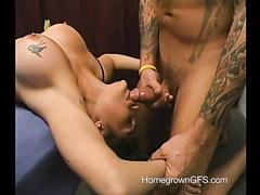Martinez fucks Dallas' mouth deeply
