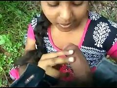 Desi mallu Teen girl fucking in the jungle