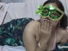 Indian Juicy Bimbo Velamma Bhabhi Getting Her Big Tits Fondl