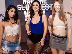 May The Sluttiest Win - Karlie Montana - Gina Valentina - Samantha Hayes - RK HD