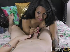 Horny Lily Indian Pornstar XXX Sex With Her Husband