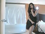 Indian Girl Shanaya In Sexy Skirt Exposing Her Sexy Legs