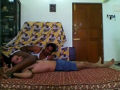 Indian Couple 69 Position Homemade Sex Tape