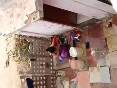 Desi bhabhi shower video filmed by neighbor in open