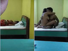 Today Exclusive-Hot Desi Couple Romance and Fucking
