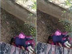 Today Exclusive- Desi Couple OutDoor Fucking Capture By Hidden Cam