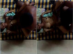 Today Exclusive- Sexy Look Telugu Wife Boob pressing And hard Fucked By Hubby