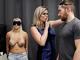 Cory Chase & Vanessa Cage - Hot Daughter Tricked into a Threesome with Mom & Dad