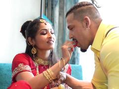 hot Desi girl fucks a dildo live and hardcore on webcam