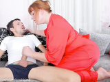CAUGHT Mommy Jerking Off My Best Friend'S Big Cock.
