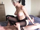 Lesbian takes first real cock - Samantha Flair