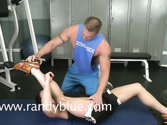 Gay hottie Jay Stone gets hard private anal workout